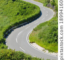 s, curve, road 18994160
