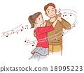 취미 사교 댄스 음표 18995223