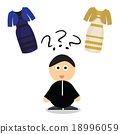 Puzzle what color of dress 18996059
