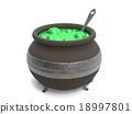 Spooky witch's cauldron  18997801