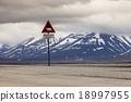 polar, sign, svalbard 18997955
