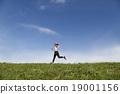 慢跑 人類 人物 19001156