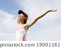 練習 慢跑者 奔跑者 19001161