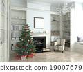 interior, year, tree 19007679