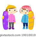 滑雪板 冬季運動 夥伴 19010010