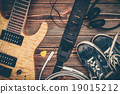 Modern electric guitar 19015212