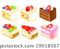 蛋糕 巧克力蛋糕 裝飾 19018567