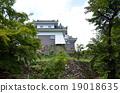 echizen ono castle, fukui, reconstruction tower 19018635