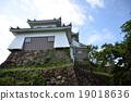 castle tower, echizen, fukui 19018636
