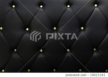 Black Leather Texture Sofa Stock