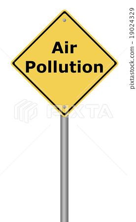 Warning Sign Air Pollution 19024329