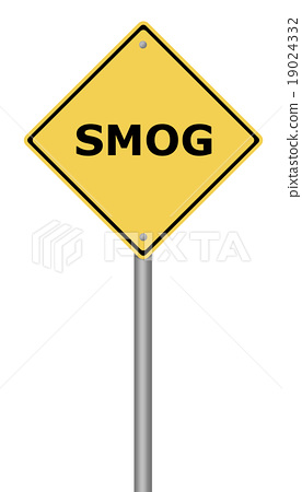 Warning Sign SMOG 19024332