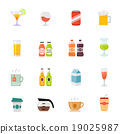 Beverage full color flat design vector icon. 19025987