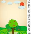 garden, apple, tree 19029615