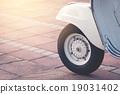 Vintage scooter wheel 19031402