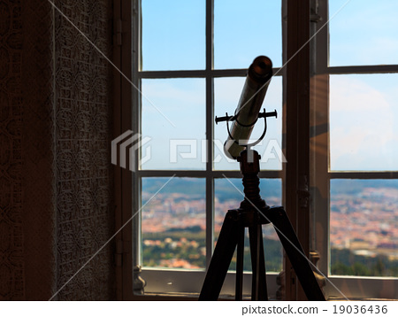 Telescope in the room 19036436