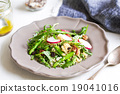 Ouinoa with Asparagus and Feta salad 19041016