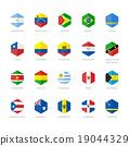 flag, america, south 19044329