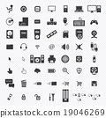 computer icons set. illustration eps10 19046269