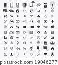 cellphone, gadget, icon 19046277