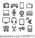 Communication device icons 19048771