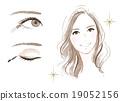眼妝 一個年輕成年女性 女生 19052156