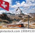 alps, train, matterhorn 19064530