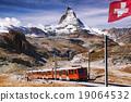 alps, train, matterhorn 19064532