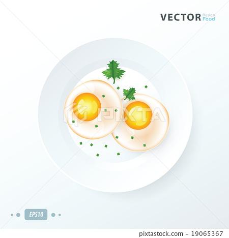 Organic Sunnyside up Egg to breakfast 19065367