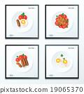 breakfast foods set 19065370