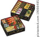 年夜饭 日式饭盒 多层食品盒 19066485