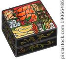年夜饭 日式饭盒 多层食品盒 19066486