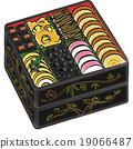 年夜饭 日式饭盒 多层食品盒 19066487
