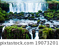 Iguassu Falls, the largest series of waterfalls  19073201