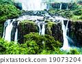 Iguassu Falls, the largest series of waterfalls  19073204