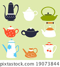 Tea Coffee Season Autumn Winter Kettle Set 19073844