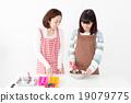 烹飪 父母和小孩 親子 19079775