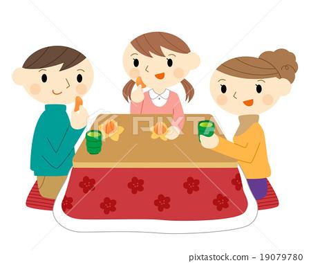kotatsu, family, parenthood 19079780