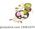 hanami dango three-color 19081074