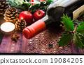 葡萄酒瓶 酒瓶 聖誕節 19084205