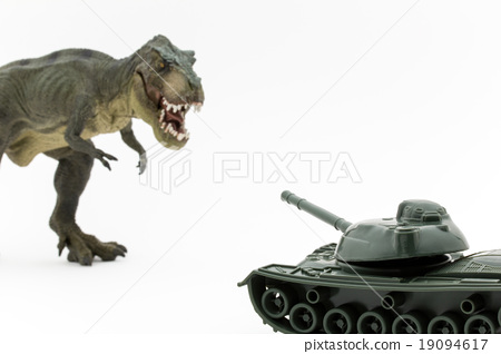 티라노 사우루스 vs. 전차 19094617