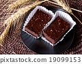 Chocolate brownies 19099153