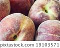 ลูกพีช,ผลไม้,สด 19103571