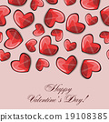heart, valentine, card 19108385