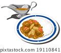 咖哩 咖哩飯 食物 19110841