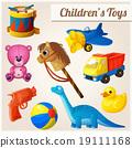 toy vector duck 19111168