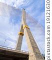 Mega sling Bridge,Rama 8, in Thailand 19121630