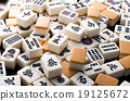 game, tabletop game, mahjong tile 19125672