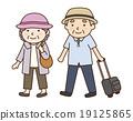 旅行 夏 高齢者 19125865
