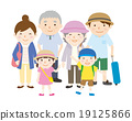 Family travel 3rd generation in summer 19125866